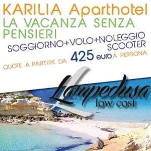 Karilia Aparthotel Vacanze Low Cost A Lampedusa