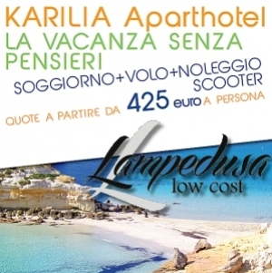 Karilia Aparthotel Per Le Tue Vacanze A Lampedusa è un evento a ...