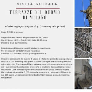 Visita Guidata Alle Terrazze Del Duomo Di Milano è Un Evento